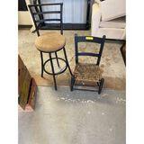 Barstool & Kids Chair