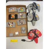 Nintendo 64 Games & Controllers (Condition Unsure)