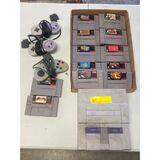 Super Nintendo, Games, & Controllers (Condition Unsure)