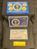 Presidential Dollar Collection 2008 Uncirculated Edition