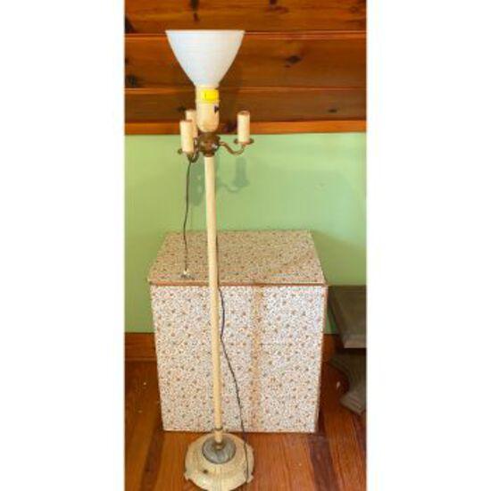 Vintage/Primitive Floor Lamp