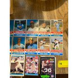 1970s Baseball Cards Cut outs