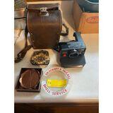 Brackett & McCall Ash Tray & Polaroid
