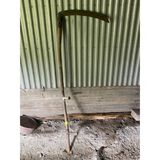 Antique Wood Mowing Scythe