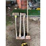 Axes, Double Head Axe, & Floor Scrape