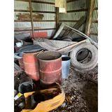 55 Gallon Drums, Semi Tires, Semi Rings & Tarps