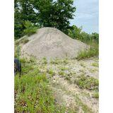 4 Piles of Various Size gravel/Rock