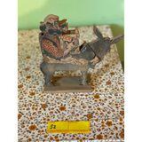 Donkey & a Guy Wood Toy