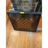 Checkered Board Card Table