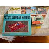 Air Mattress, Shoe Brush & Wonder-Loom