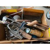 Box of Kitchen Utensils
