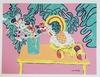 Henri Matisse (After) vintage color lithograph