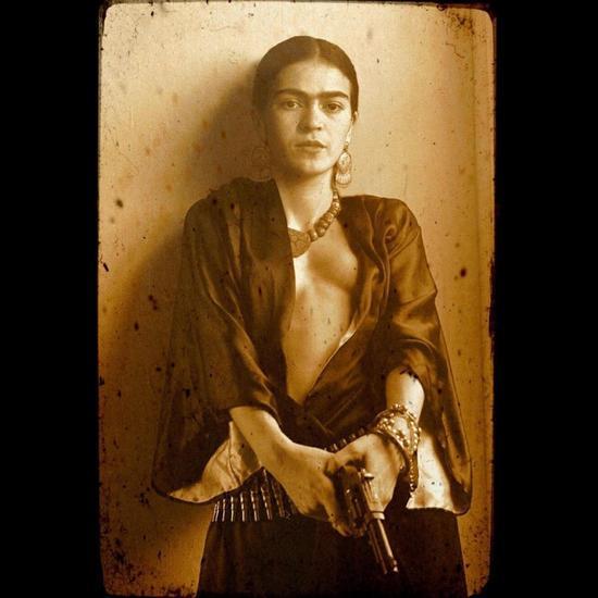 Robert Toren - Frida Kahlo Donnette Thayer Composite