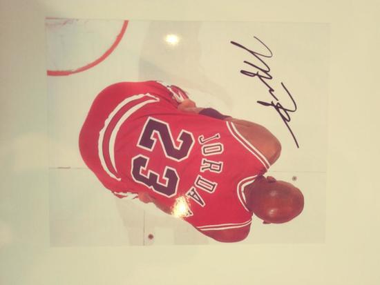 Michael Jordan Signed Photo