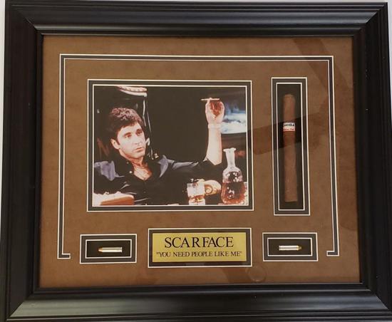 SCARFACE-Tony Montana Framed Shadow Box