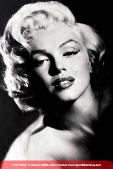 MARILYN MONROE - GLAMOUR OFFSET LITHOGRAPH 36x24