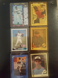 LOT OF 6 BASEBALL ROOKIE CARDS