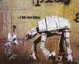 DOLK, Banksy I Am Your Father, offset lithograph