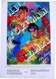 Leroy Neiman #d offset lithograph