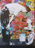 Mr. Brainwash, offset lithograph with met