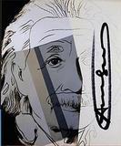 Andy Warhol, ALBERT EINSTEIN Ten Portraits of Jews Hand