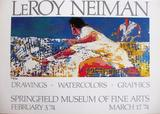 Leroy Neiman, Tennis Player limited edition lithograph