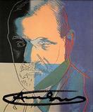 Andy Warhol, Sigmund Freud Ten Portraits of Jews Hand