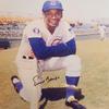 Ernie Banks Signed 8 x 10 photo