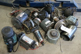 Miscellaneous small motors & tools