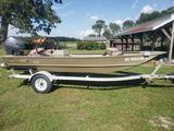 2005 G3 1652 aluminum boat w/ Yamaha motor