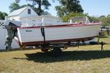 1960 Commodore boat w/ Evinrude motor