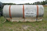 1,000 gal. aluminum nurse tank