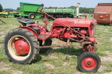 Farmall cub tractor w/ parts