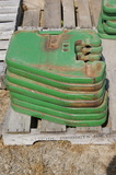 John Deere tractor weights