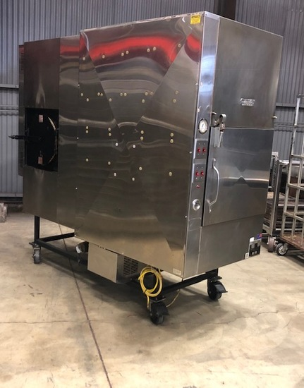 Ole Hickory ELES Commercial BBQ Pits Smoker Natural Gas Powered 110 Volts Single Phase