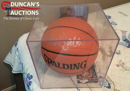 Kareem Abdul-Jabar autographed basketball