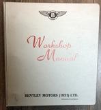 1931 Bentley Manual