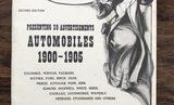 Historic 1900-1905 Auto book