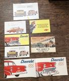 Old Chevrolet Brochures