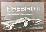 Firebird II 1956 Brochure