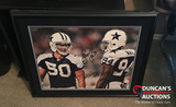DeMarcus Ware & Shaun Lee autographed picture