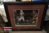 Rare Vince Young Autographed Limited Edition Print