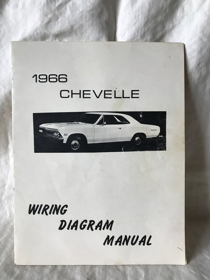 1966 Chevelle Wiring Diagram Manual