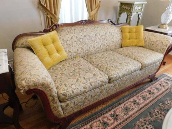 Vintage Goose Neck Sofa