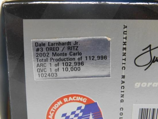 2002 Dale Earnhardt Jr. Oreo/ritz Collectible Car