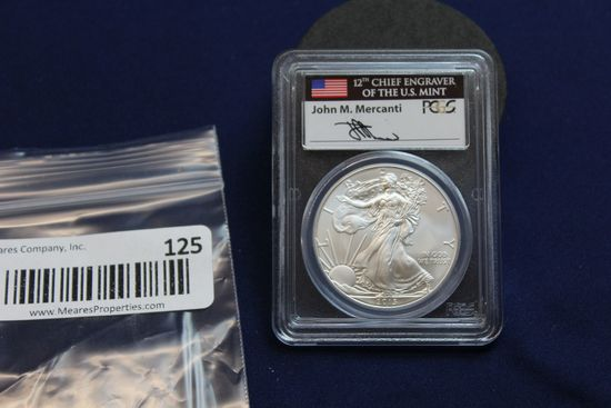 2013 Silver Eagle - First Strike