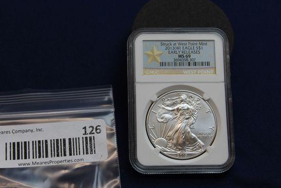 2013-W Silver Eagle - Early Release