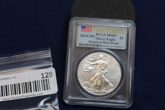 2014-W Silver Eagle