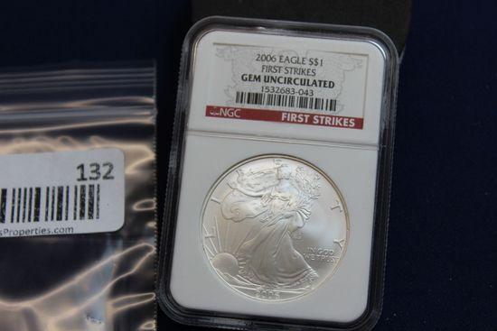 2006 Silver Eagle - Gem Uncirculated