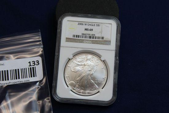 2006-W Silver Eagle